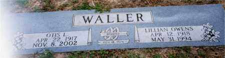 WALLER, OTIS L. - Columbia County, Arkansas | OTIS L. WALLER - Arkansas Gravestone Photos