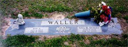 WALLER, ROY A. - Columbia County, Arkansas | ROY A. WALLER - Arkansas Gravestone Photos