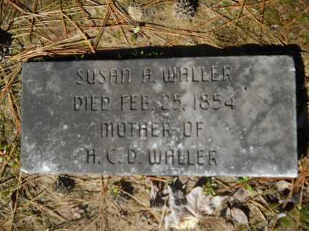 WALLER, SUSAN A - Columbia County, Arkansas | SUSAN A WALLER - Arkansas Gravestone Photos