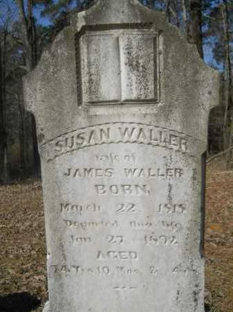 MCCOY WALLER, SUSAN - Columbia County, Arkansas | SUSAN MCCOY WALLER - Arkansas Gravestone Photos