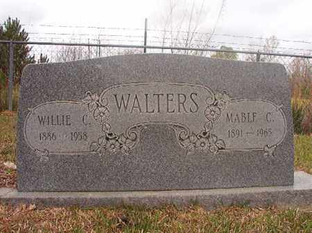 WALTERS, WILLIE C - Columbia County, Arkansas | WILLIE C WALTERS - Arkansas Gravestone Photos
