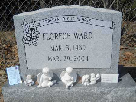WARD, FLORECE - Columbia County, Arkansas | FLORECE WARD - Arkansas Gravestone Photos