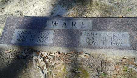 KENDRICK WARE, ANNA - Columbia County, Arkansas   ANNA KENDRICK WARE - Arkansas Gravestone Photos