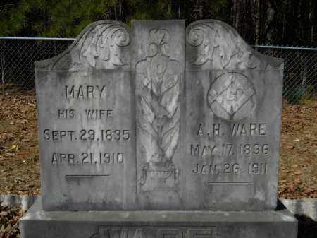 WARE, ANTHONY HOUSE - Columbia County, Arkansas | ANTHONY HOUSE WARE - Arkansas Gravestone Photos