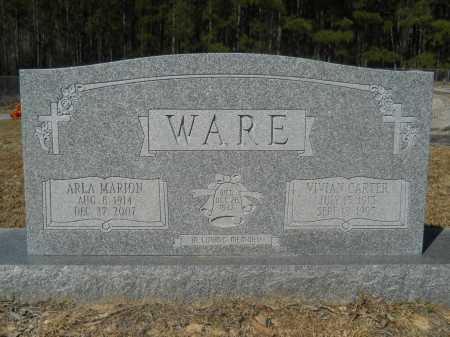 CARTER WARE, VIVIAN - Columbia County, Arkansas | VIVIAN CARTER WARE - Arkansas Gravestone Photos
