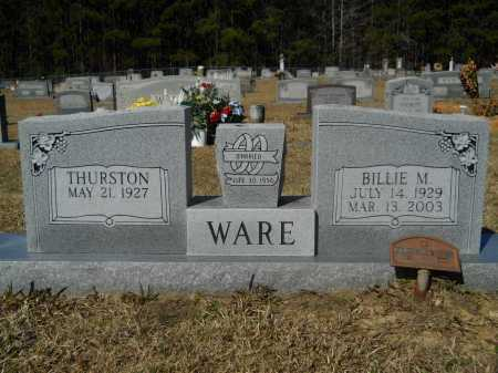 WARE, BILLIE - Columbia County, Arkansas | BILLIE WARE - Arkansas Gravestone Photos