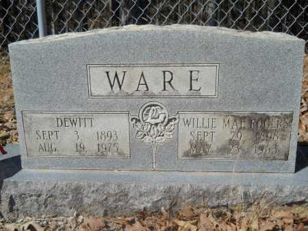 WARE, DEWITT - Columbia County, Arkansas | DEWITT WARE - Arkansas Gravestone Photos