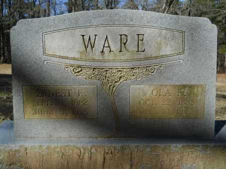 KENDRICK WARE, OLA MAE - Columbia County, Arkansas   OLA MAE KENDRICK WARE - Arkansas Gravestone Photos