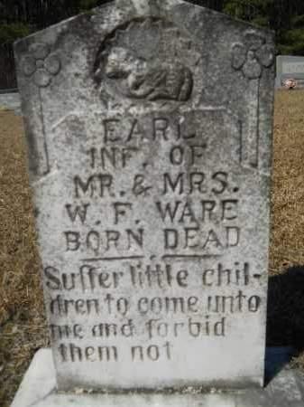 WARE, EARL - Columbia County, Arkansas | EARL WARE - Arkansas Gravestone Photos