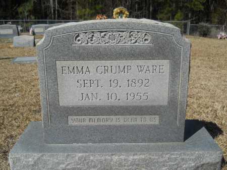 WARE, EMMA - Columbia County, Arkansas | EMMA WARE - Arkansas Gravestone Photos