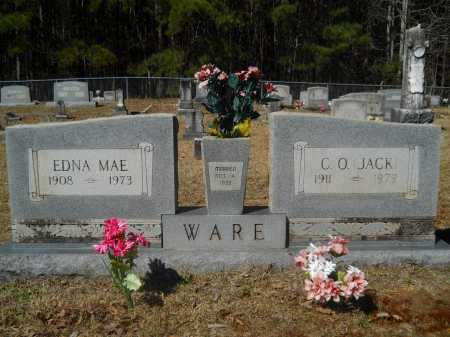 WARE, EDNA MAE - Columbia County, Arkansas   EDNA MAE WARE - Arkansas Gravestone Photos