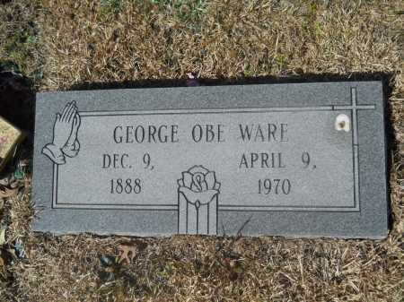 WARE, GEORGE OBE - Columbia County, Arkansas | GEORGE OBE WARE - Arkansas Gravestone Photos