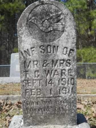 WARE, INFANT - Columbia County, Arkansas   INFANT WARE - Arkansas Gravestone Photos