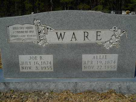 WARE, ALLIE - Columbia County, Arkansas | ALLIE WARE - Arkansas Gravestone Photos