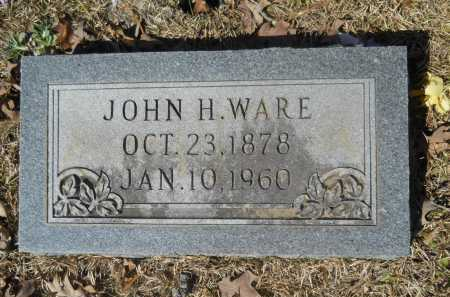 WARE, JOHN H - Columbia County, Arkansas | JOHN H WARE - Arkansas Gravestone Photos