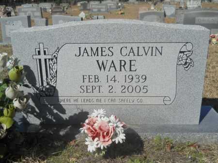 WARE, JAMES CALVIN - Columbia County, Arkansas | JAMES CALVIN WARE - Arkansas Gravestone Photos