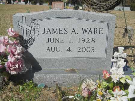 WARE, JAMES A - Columbia County, Arkansas | JAMES A WARE - Arkansas Gravestone Photos