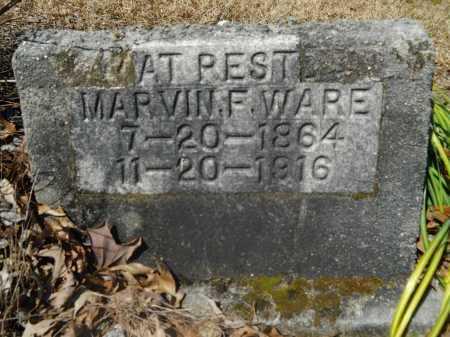 WARE, MARVIN FULLER - Columbia County, Arkansas | MARVIN FULLER WARE - Arkansas Gravestone Photos