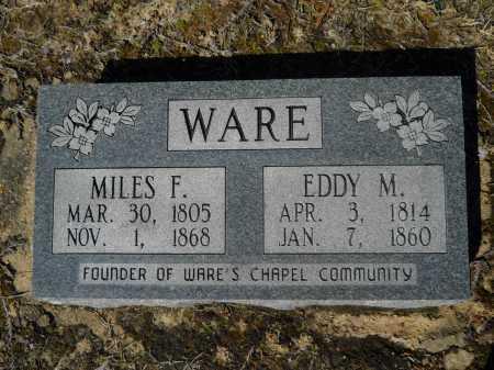 WARE, EDDY - Columbia County, Arkansas | EDDY WARE - Arkansas Gravestone Photos