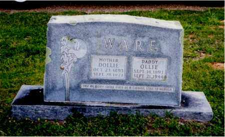 WARE, DOLLIE - Columbia County, Arkansas | DOLLIE WARE - Arkansas Gravestone Photos
