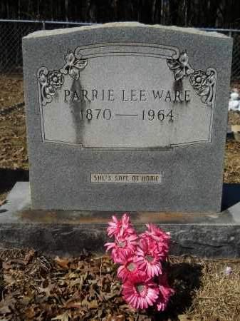 WARE, PARRIE LEE - Columbia County, Arkansas | PARRIE LEE WARE - Arkansas Gravestone Photos