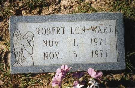 WARE, ROBERT LON - Columbia County, Arkansas   ROBERT LON WARE - Arkansas Gravestone Photos