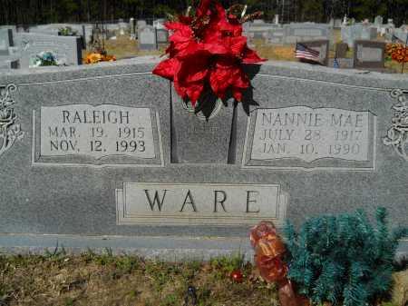 WARE, RALEIGH - Columbia County, Arkansas | RALEIGH WARE - Arkansas Gravestone Photos