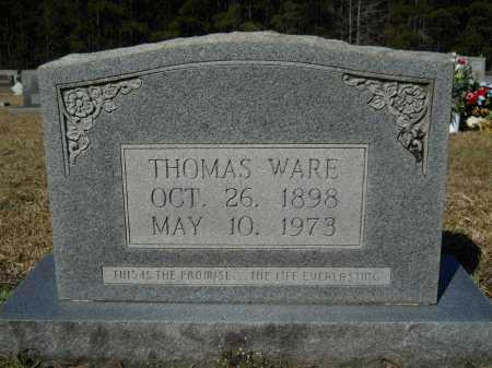 WARE, THOMAS - Columbia County, Arkansas | THOMAS WARE - Arkansas Gravestone Photos