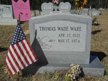 WARE, THOMAS WADE - Columbia County, Arkansas | THOMAS WADE WARE - Arkansas Gravestone Photos