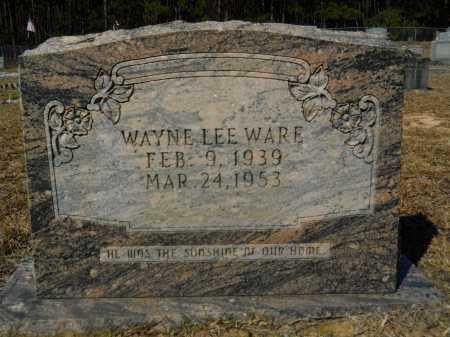 WARE, WAYNE LEE - Columbia County, Arkansas | WAYNE LEE WARE - Arkansas Gravestone Photos
