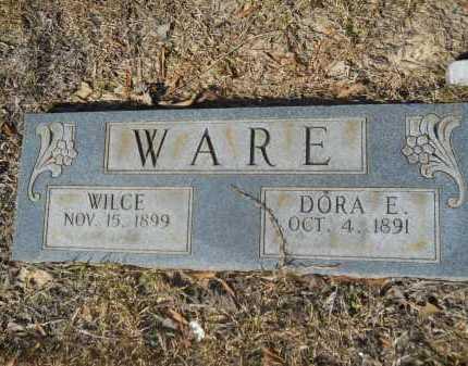 WARE, WILCE - Columbia County, Arkansas   WILCE WARE - Arkansas Gravestone Photos