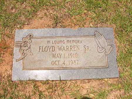 WARREN, SR, FLOYD - Columbia County, Arkansas | FLOYD WARREN, SR - Arkansas Gravestone Photos