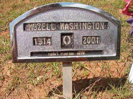WASHINGTON, MOZELL - Columbia County, Arkansas   MOZELL WASHINGTON - Arkansas Gravestone Photos