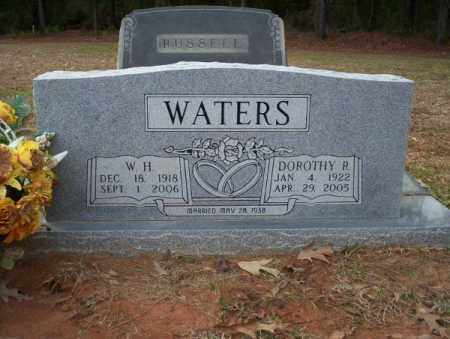 WATERS, W.H. - Columbia County, Arkansas | W.H. WATERS - Arkansas Gravestone Photos