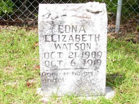 WATSON, EDNA ELIZABETH - Columbia County, Arkansas | EDNA ELIZABETH WATSON - Arkansas Gravestone Photos