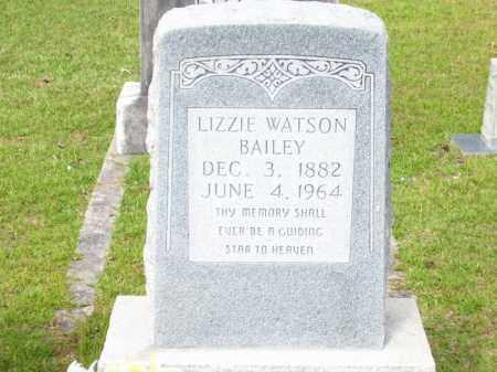 "WATSON BAILEY, ELIZABETH C ""LIZZIE"" - Columbia County, Arkansas   ELIZABETH C ""LIZZIE"" WATSON BAILEY - Arkansas Gravestone Photos"