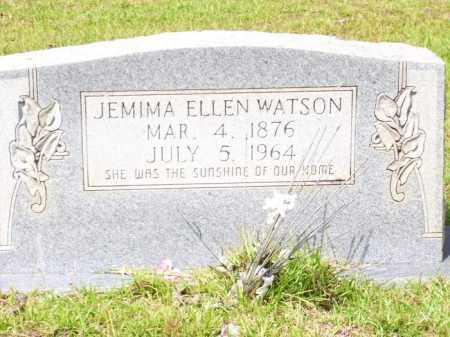 WATSON, JEMIMA ELLEN - Columbia County, Arkansas | JEMIMA ELLEN WATSON - Arkansas Gravestone Photos