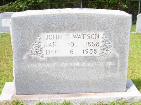 WATSON, JOHN T - Columbia County, Arkansas   JOHN T WATSON - Arkansas Gravestone Photos