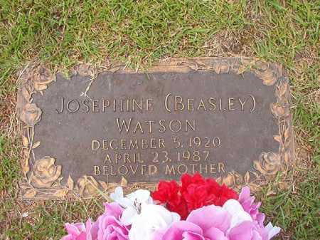 BEASLEY WATSON, JOSEPHINE - Columbia County, Arkansas | JOSEPHINE BEASLEY WATSON - Arkansas Gravestone Photos