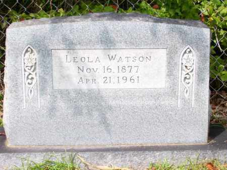 PRICE WATSON, LEOLA - Columbia County, Arkansas | LEOLA PRICE WATSON - Arkansas Gravestone Photos