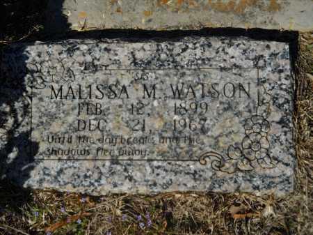 WATSON, MALISSA M - Columbia County, Arkansas   MALISSA M WATSON - Arkansas Gravestone Photos