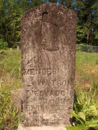 WATSON, MENDER - Columbia County, Arkansas | MENDER WATSON - Arkansas Gravestone Photos
