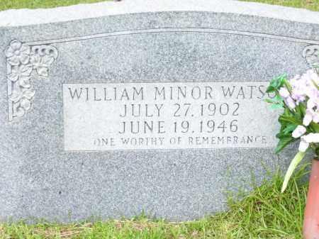 WATSON, WILLIAM MINOR - Columbia County, Arkansas   WILLIAM MINOR WATSON - Arkansas Gravestone Photos