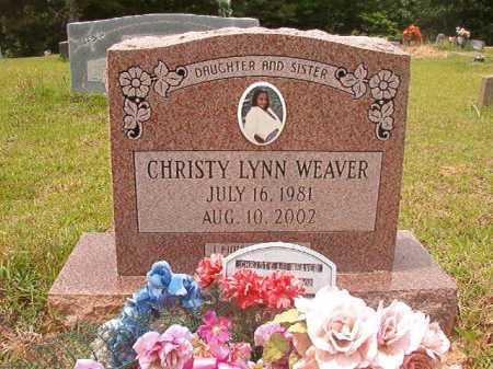 WEAVER, CHRISTY LYNN - Columbia County, Arkansas | CHRISTY LYNN WEAVER - Arkansas Gravestone Photos