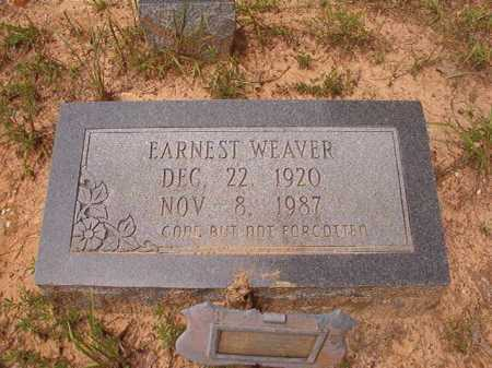 WEAVER, EARNEST - Columbia County, Arkansas | EARNEST WEAVER - Arkansas Gravestone Photos