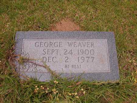 WEAVER, GEORGE - Columbia County, Arkansas | GEORGE WEAVER - Arkansas Gravestone Photos