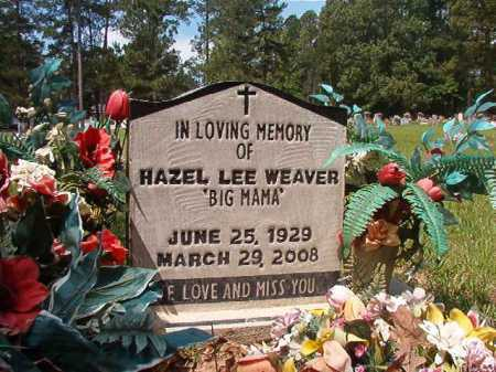 WEAVER, HAZEL LEE - Columbia County, Arkansas   HAZEL LEE WEAVER - Arkansas Gravestone Photos