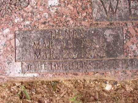 WEAVER, HENRY - Columbia County, Arkansas | HENRY WEAVER - Arkansas Gravestone Photos