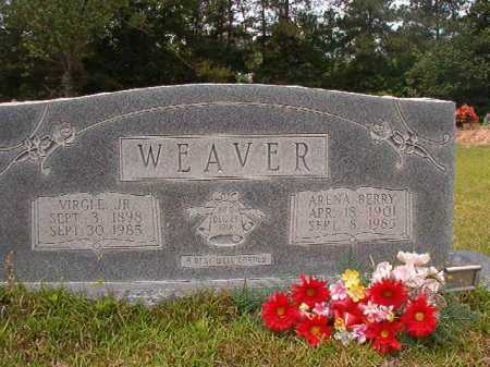 WEAVER, JR, VIRGLE - Columbia County, Arkansas | VIRGLE WEAVER, JR - Arkansas Gravestone Photos