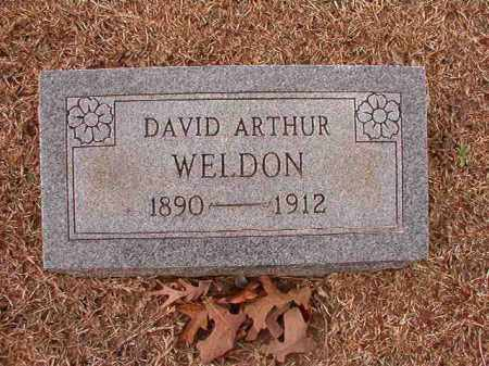 WELDON, DAVID ARTHUR - Columbia County, Arkansas | DAVID ARTHUR WELDON - Arkansas Gravestone Photos